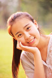 Portrait of pretty girl Stock Image