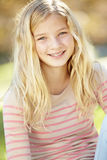 Portrait Of Pretty Girl In Countryside Royalty Free Stock Photo