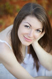 Portrait of a pretty girl Royalty Free Stock Image
