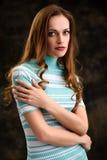 Portrait of a pretty girl Stock Image