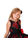 Portrait of pretty girl. royalty free stock photo