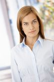 Portrait of pretty girl smiling Royalty Free Stock Photo