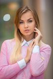 Portrait of a pretty girl Royalty Free Stock Photo
