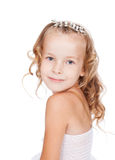 Portrait of pretty little girl Stock Photo