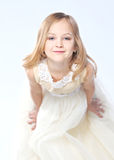Portrait of a pretty little girl Royalty Free Stock Photography