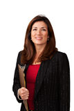 Portrait of pretty mature businesswoman Stock Photography