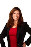 Portrait of pretty mature businesswoman Royalty Free Stock Photos