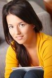 Portrait of pretty schoolgirl Royalty Free Stock Photography