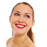 Portrait of pretty smiling girl Royalty Free Stock Photo