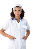 Portrait of pretty smiling nurse Royalty Free Stock Photo