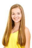 Portrait of pretty, teen girl smiling Royalty Free Stock Photo