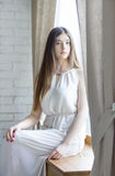 Portrait of a pretty teenage girl Stock Image