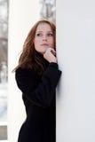 Portrait of pretty woman Royalty Free Stock Photos