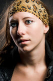 Portrait of a pretty woman Stock Image