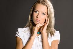 Portrait of pretty woman Royalty Free Stock Image