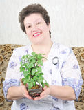 Portrait pretty woman Royalty Free Stock Photography