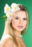 Portrait of pretty woman Stock Photo