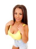 Portrait of pretty woman. Royalty Free Stock Image