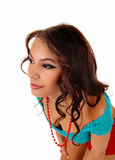 Portrait of pretty woman. Royalty Free Stock Photography