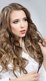 Portrait of a pretty woman with brown hair Royalty Free Stock Photos