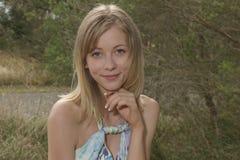 Portrait of pretty women Stock Images