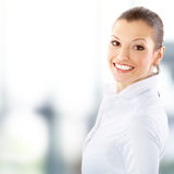 Portrait of a pretty young business Stock Images
