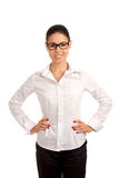 Portrait of a pretty young businesswoman Royalty Free Stock Photography