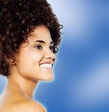 Portrait of a pretty young fashion model Stock Image