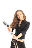 portrait of a pretty young female star Royalty Free Stock Photography