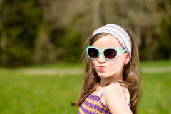 Portrait of a pretty young girl Royalty Free Stock Photo