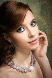 Portrait of pretty young woman Royalty Free Stock Photography