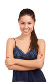 Portrait of a pretty young woman Stock Image