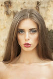 Portrait of pretty young woman Royalty Free Stock Image