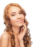 Beautiful woman with healthy skin Royalty Free Stock Photo
