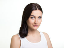 Portrait of a pretty young woman Stock Photo