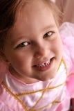 Portrait of a Princess. Nice portrait picture of a little princess Stock Photos
