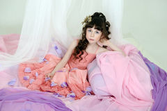 Portrait princess Stock Images