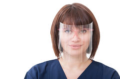 Portrait of a professional dentist woman Stock Image