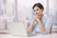 Portrait of professional in office Royalty Free Stock Photos