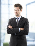 Portrait of professional smiling businessman Royalty Free Stock Photos