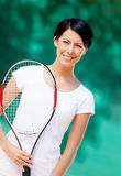Portrait of professional tennis player Royalty Free Stock Photo