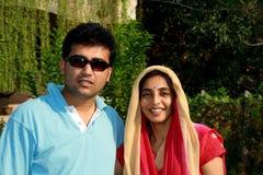 Portrait of Punjabi couple Royalty Free Stock Photography