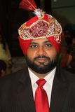 Portrait of a Punjabi Groom Royalty Free Stock Image