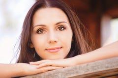 Portrait of quiet girl Royalty Free Stock Photo