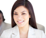 Portrait of a radiant businesswoman Royalty Free Stock Photo