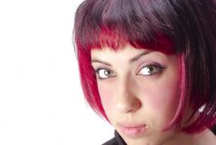 Portrait with red hair Royalty Free Stock Photography