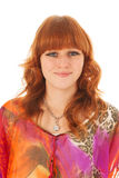 Portrait red haired girl Royalty Free Stock Photo