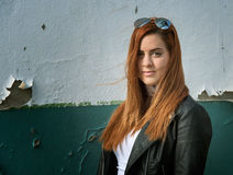 Portrait of red-haired girls Royalty Free Stock Photo