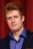 Portrait of red haired man Royalty Free Stock Photo