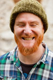 Portrait of a red haired man Royalty Free Stock Images